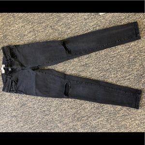 Black Jegging Jeans